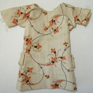 Jolie petite robe ancienne pour petite poupée Jumeau Sfbj