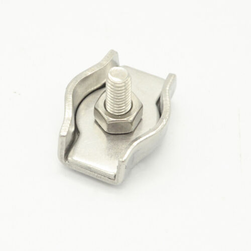 SIMPLEX Clips Acier Inoxydable 304 Wire Rope Câble Poignées Pince Caliper 2 mm 10 mm
