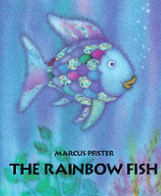 1 of 1 - THE RAINBOW FISH - MARCUS PFISTER (Hardback 1998) LIKE NEW -CLASSIC PICTURE BOOK