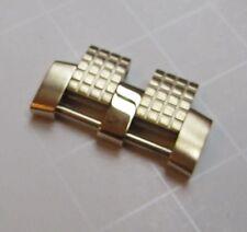 RENATO Watch Bracelet LINK Yellow GOLD SS Steel VULCAN New 26mm