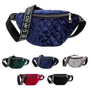 09b9583a888d Details about Womens Ladies Fashion Bum Bag Waist Bag Shoulder Bag Travel  Holiday Money Belt
