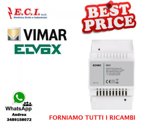 Alimentatore Due Fili Plus 230V supplem. Vimar Elvox 6923