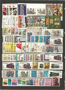 DDR-1981-postfrisch-kompletter-Jahrgang-mit-allen-Einzelmarken