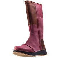 Art Heathrow 1025 Womens Boots Burgundy Shoes