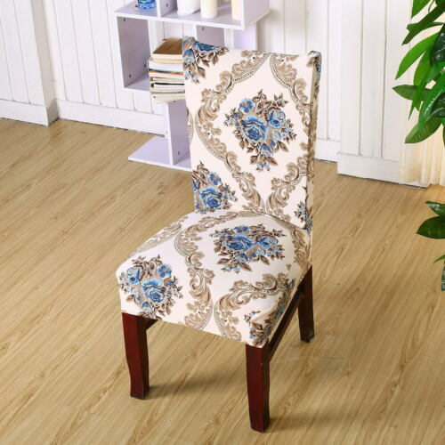 Spandex Stretch Chair Covers Elastic Dining room Wedding Banquet Slipcovers