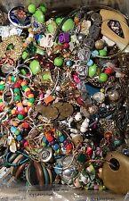 Vintage to Now 18 Lbs of Broken Jewelry Lot Art Crafting, Scrap, Repurpose, Part