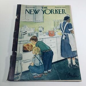 The-New-Yorker-Nov-24-1951-Full-Magazine-Theme-Cover-Perry-Barlow