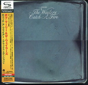 B-MARLEY-amp-THE-WAILERS-CATCH-A-FIRE-2-x-SHM-CD-JAPAN-2010-UICY-94585-6-NEW