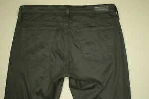 AG-Adriano-Goldschmied-The-Stilt-Cigarette-Leg-Jeans-Women-039-s-Size-27-Brown