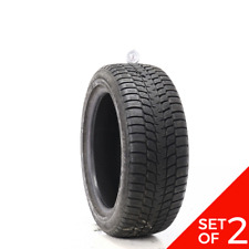 Set Of 2 Used 22550r17 Bridgestone Blizzak Lm 25 I Rft 94h 732 Fits 22550r17