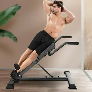 Adjustable Roman Chair Back Hyperextension Bench For Strengthening Abs