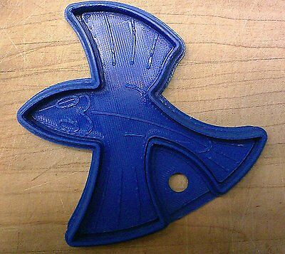 Escher Style Fish Cookie Cutter - Choice of Sizes - 3D Printed Plastic