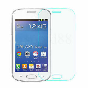 Tempered glass screen protector film for samsung galaxy - Protection galaxy trend lite ...