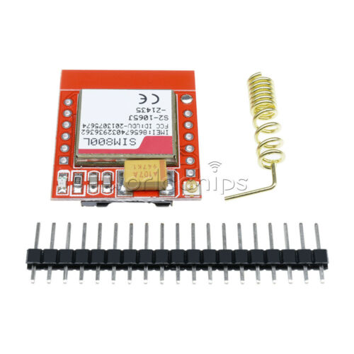 SIM800L GPRS GSM Phone Module Card Board Quad-band Onboard TTL Port