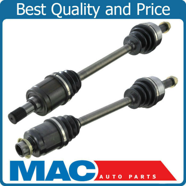 CV DRIVE AXLE SHAFT ASSEMBLY DRIVER PASSENGER SIDE PAIR