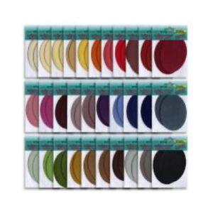 2-Stueck-ovale-8-x-11-cm-Samt-Buegelflicken-Aufbuegler-Flicken-31-Farben