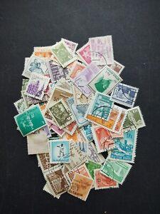 Dans-le-Monde-Entier-Collection-de-timbres-accumulation-210-tous-differents-OFF-PAPER-STAMPS