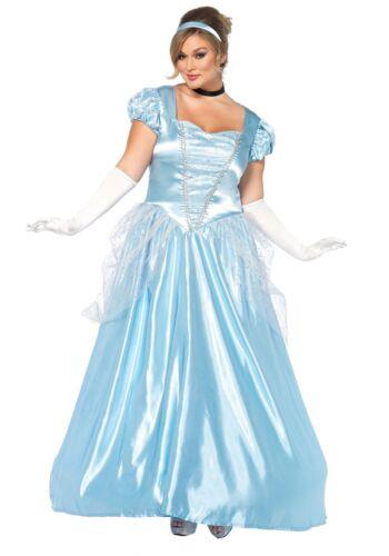 Plus Size Cinderella Classic Costume
