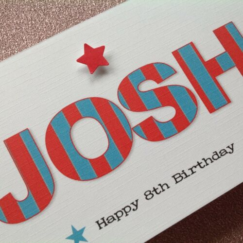 Personalised Handmade Money//Voucher//Gift Card Wallet BIRTHDAY 3 4 5 6   Any Age
