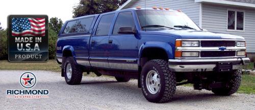 1995 1996 Chevy Silverado C//K 1500 3500-PASSENGER Bottom Leather Seat Cover GRAY