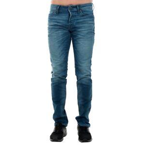 Jack-amp-Jones-Hombre-Jeans-pantalon-low-high-waist-Azul-20477-60