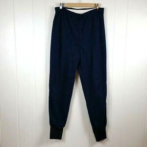 Vintage Columbia Sportswear De Hombre Talla M Azul Pantalones Forro Polar Termico Ebay