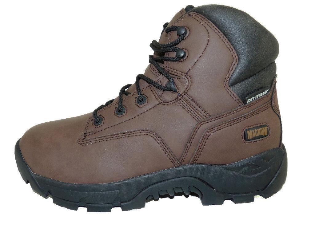 Magnum Precision Ultra Lite WPI Coffee Brown Waterproof 6.5  Shaft Work Boots