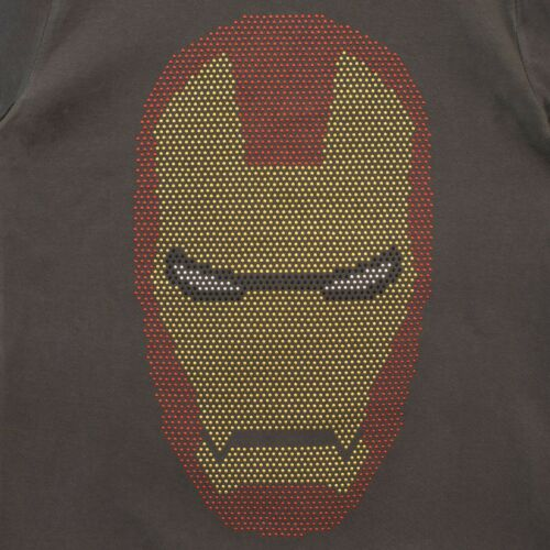 Marvel Iron Man T-ShirtBoys Iron Man Short Sleeve TopKids Marvel Tee