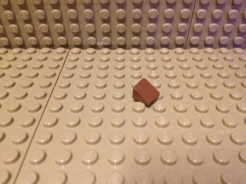 Lego® 10 x Schrägstein 1x1x2//3 Dachstein rotbraun Neu #54200