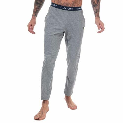 Hommes Lyle et Scott Alastair taille élastique pantalon de détente en gris