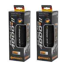 Continental GP 4000s II Folding Tires PAIR 700x25c Black Grand Prix GP4000 S II