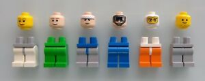 LEGO-Heads-and-Legs-Lot-of-12-Brand-New-Lego-minifigures