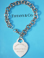 Tiffany & Co Return To Tiffany Sterling Silver Extra Large Heart Tag Bracelet