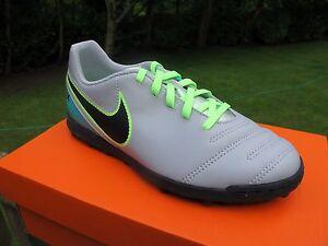 NIKE-TIEMPOX-RIO-III-JNR-Football-Boots-ASTRO-TURF-SIZE-2-5-5-WOLF-GREY-JADE