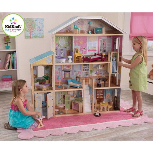 KidKraft Majestic Mansion Dollhouse With Furniture | EBay