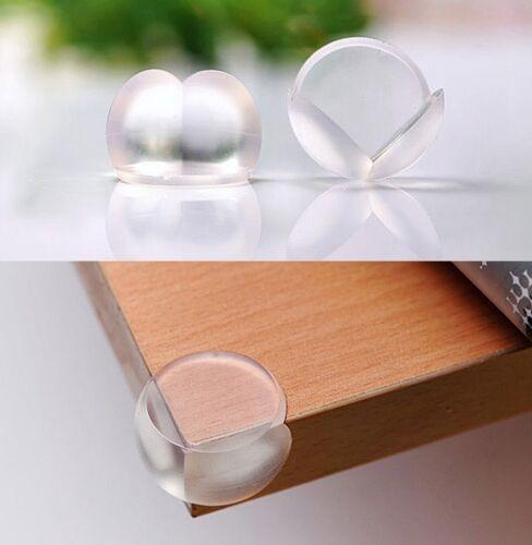 4x Pare Choc Protection Coins Angles Table Meuble Sécurité Silicone Bébé Enfant