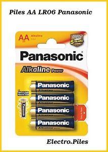 Piles-batons-AA-LR06-de-marque-Panasonic-expedition-rapide-et-gratuite