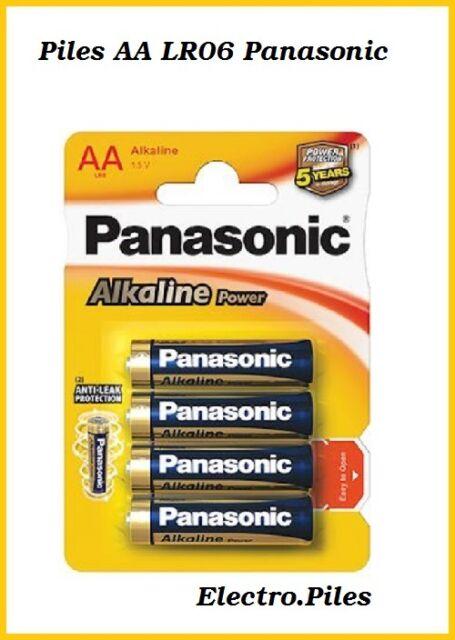 Pilas se pega AA LR06 de marca Panasonic, y