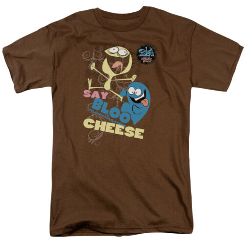 Foster/'s Home Imaginary Friends Say Bloo Cheese DANCING Adult T-Shirt All Sizes