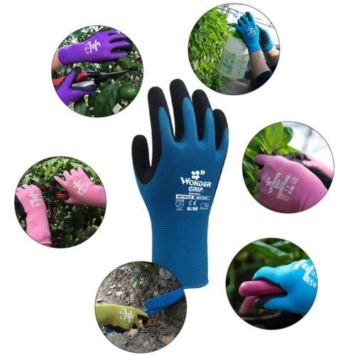 1 Paar Wonder Grip EN388-4131 Universal Arbeit Zuhause Gartenarbeit iGRYp