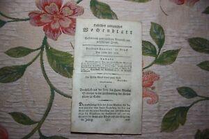 Frugal 1808 Halle Hebdomadaire 31/reichstag à Kassel Joseph Lancaster Padagoge London-afficher Le Titre D'origine