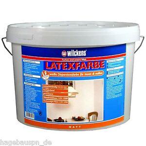 7-12-L-Wilckens-Latexfarbe-hochglaenzend-seidenglanz-matt-2-5-5-10-Liter