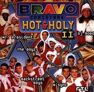 Bravo-Christmas-Hot-amp-Holy-2-1997-Mr-President-Backstreet-Boys-The-B-CD