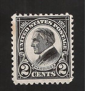 US-1923-Sc-610-2-c-W-HARDING-Mint-H-Crisp-Color