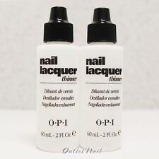 LOT 2 OPI Nail Polish Lacquer Thinner 60 mL - 2 fl oz NTT01    SHIP 24H