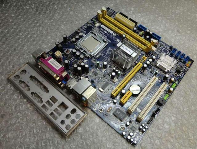 Original Original Foxconn 45cm Socket LGA 775 Mainboard mit Backplate