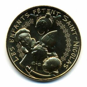 54 NANCY Les enfants fêtent Saint-Nicolas, 2021, Monnaie de Paris
