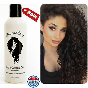 Bounce Curl Light Creme Gel With Aloe 12oz Curly Hair Best