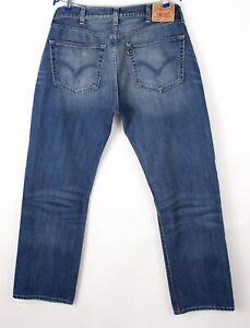 Levi's Strauss & Co Herren 501 Gerades Bein Jeans Größe W38 L32 BBZ436