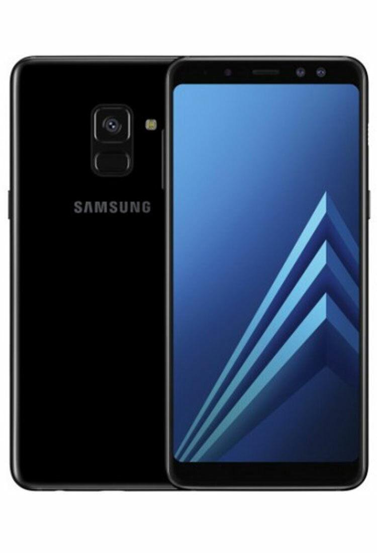 Samsung Galaxy: Samsung Galaxy A8 (2018) 32GB A530F DS Nero A+ Come Nuovo RICONDIZIONATO